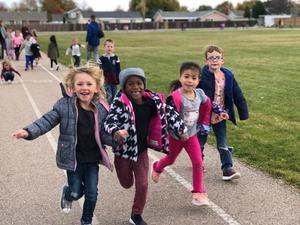 Kindergarten loves to be active