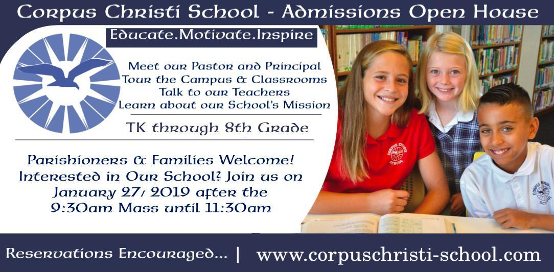 Admissions Open House Image