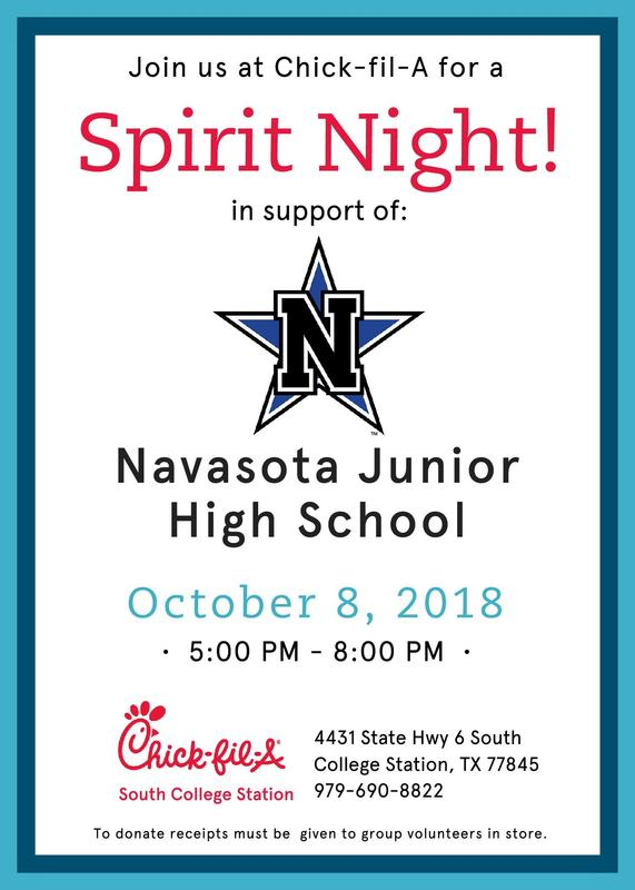 Chick-Fil-A Spirit Night Featured Photo