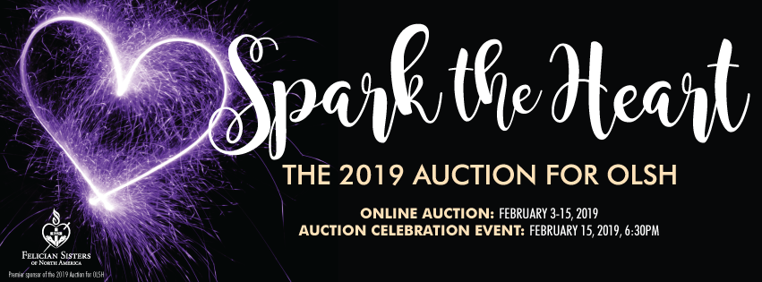 logo image for Spark the Heart, the 2019 Auction for OLSH