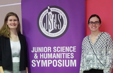 Sacred Heart STEM Scholars Named Semifinalists in Junior Science and Humanities Symposium Featured Photo