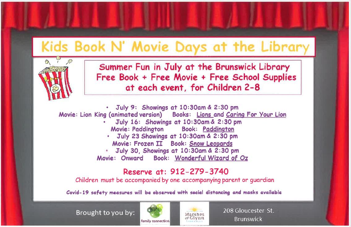 Kids Book N' Movie Days