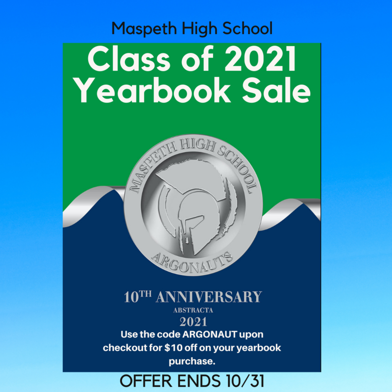 Class of 2021 Yearbook Sale