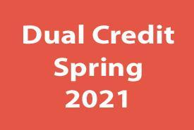 Dual Credit: Spring 2021 Featured Photo