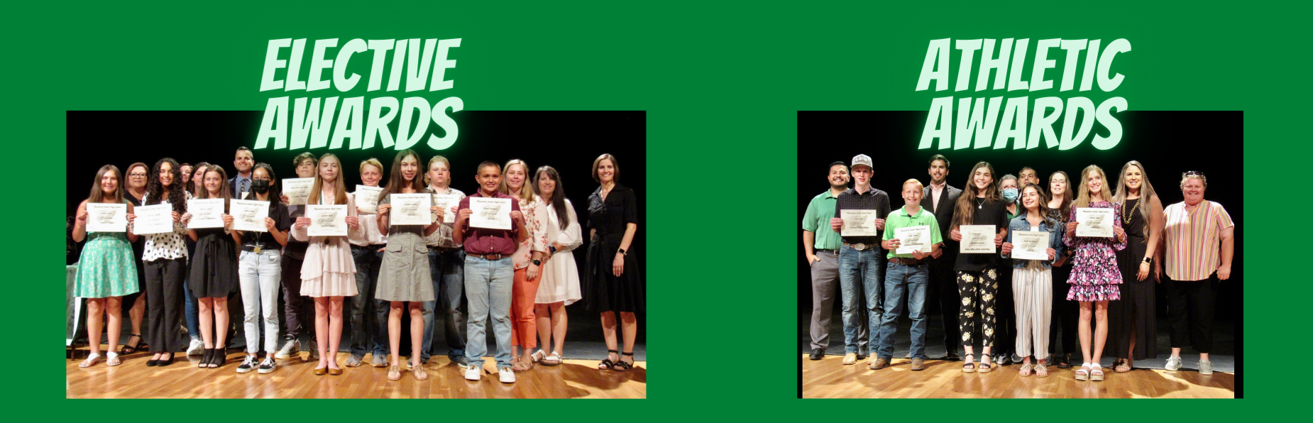 Elective and Athletic Awards