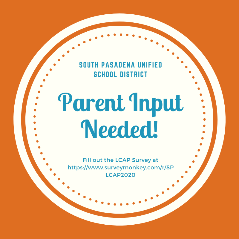 Parent Input Needed Graphic