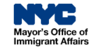 Logo for mayor's office of immigrant affairs