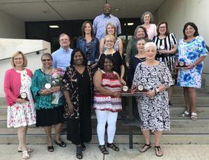 Some of Lexington Two's retiring employees