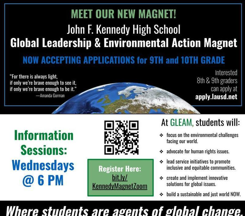 Now Accepting Applications for the New GLEAM Magnet! Featured Photo