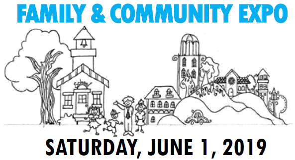 Family & Community EXPO is Coming!  Saturday, June 1 from 11 AM to 3 PM.  Exhibitors Welcomed! Thumbnail Image