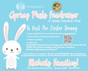 Easter Bunny Photo Flyer