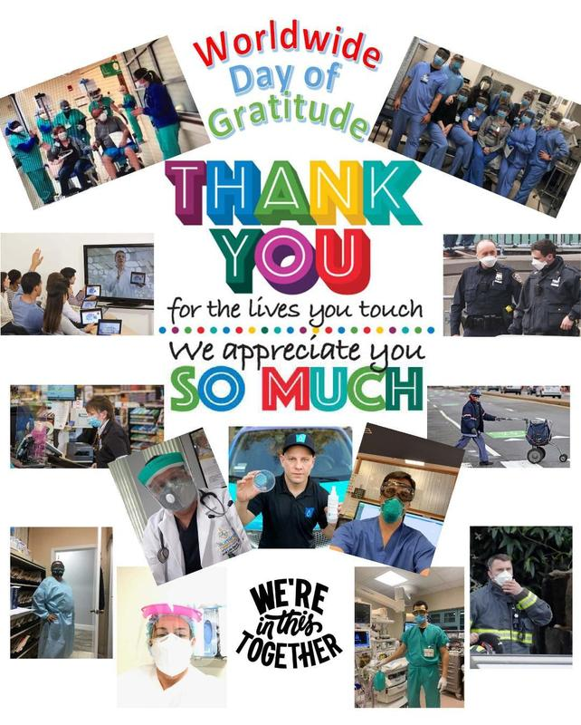 Thank you Essential Workers Collage