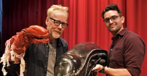Adam Savage Visits NBHS