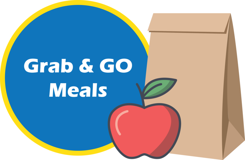 Grab and Go Meals Graphic