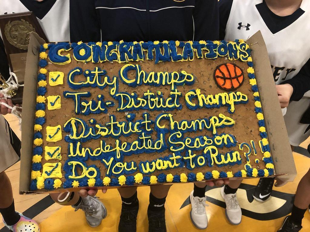 District Champs Cake