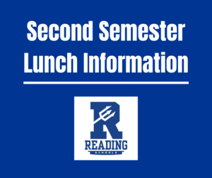 Second Semester Lunch Information