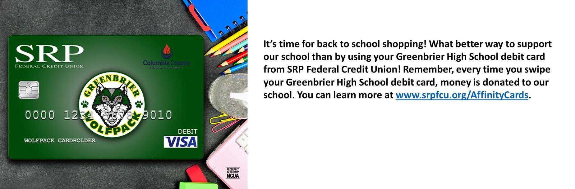 SRP debit