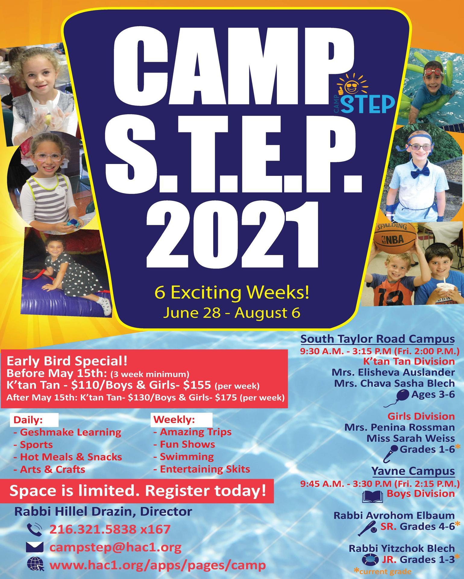 Camp STEP