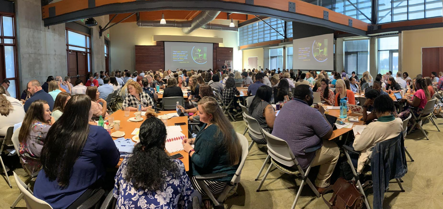 LISA Academy Teachers and Administrators at #FIREUP2019 on August 5, 2019