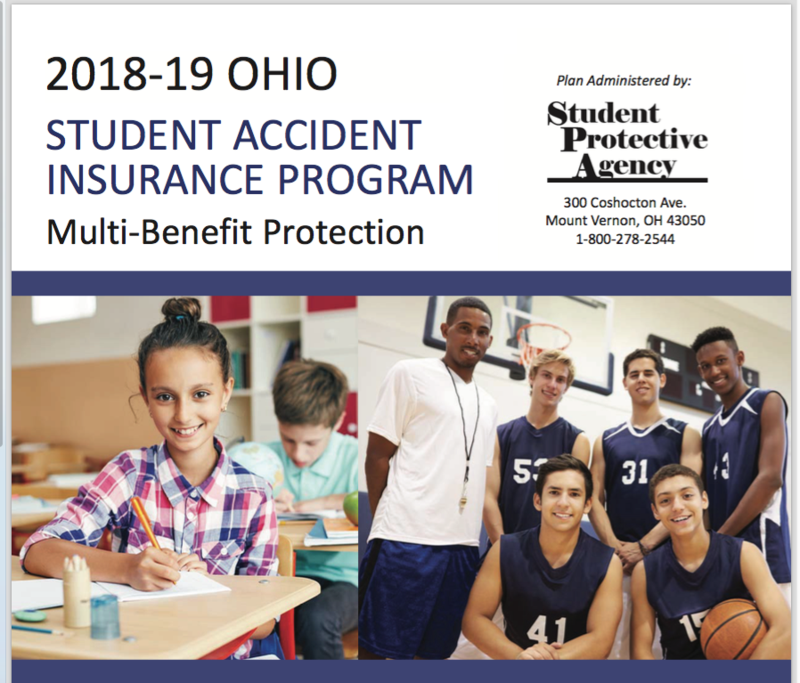 Student Accident Insurance Information 2018-2019 Thumbnail Image