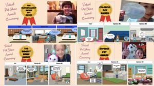 Pet awards and Storyboard that collage