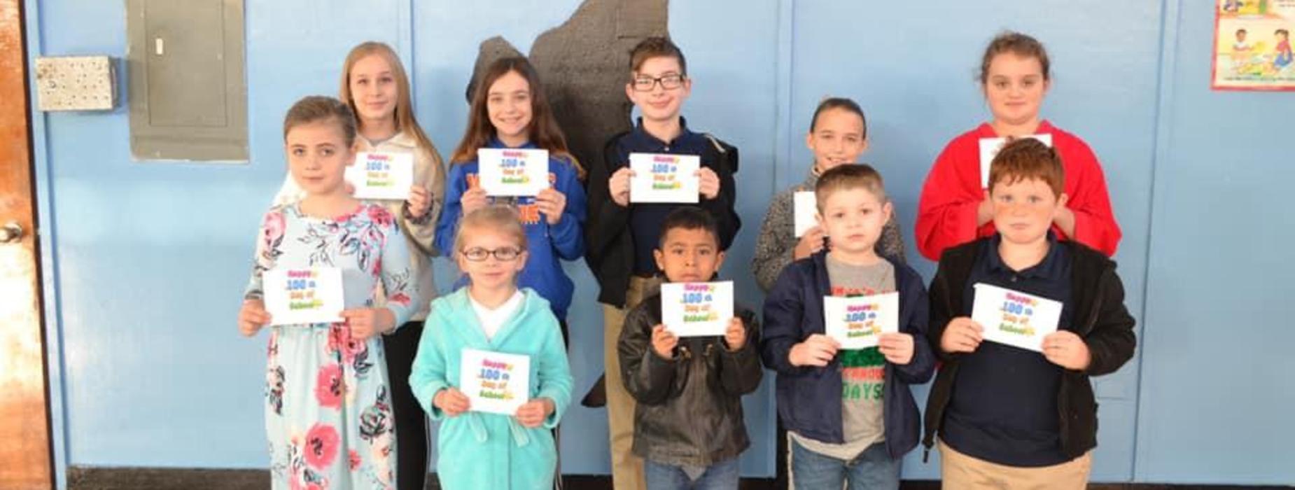 100th Day of School Winners