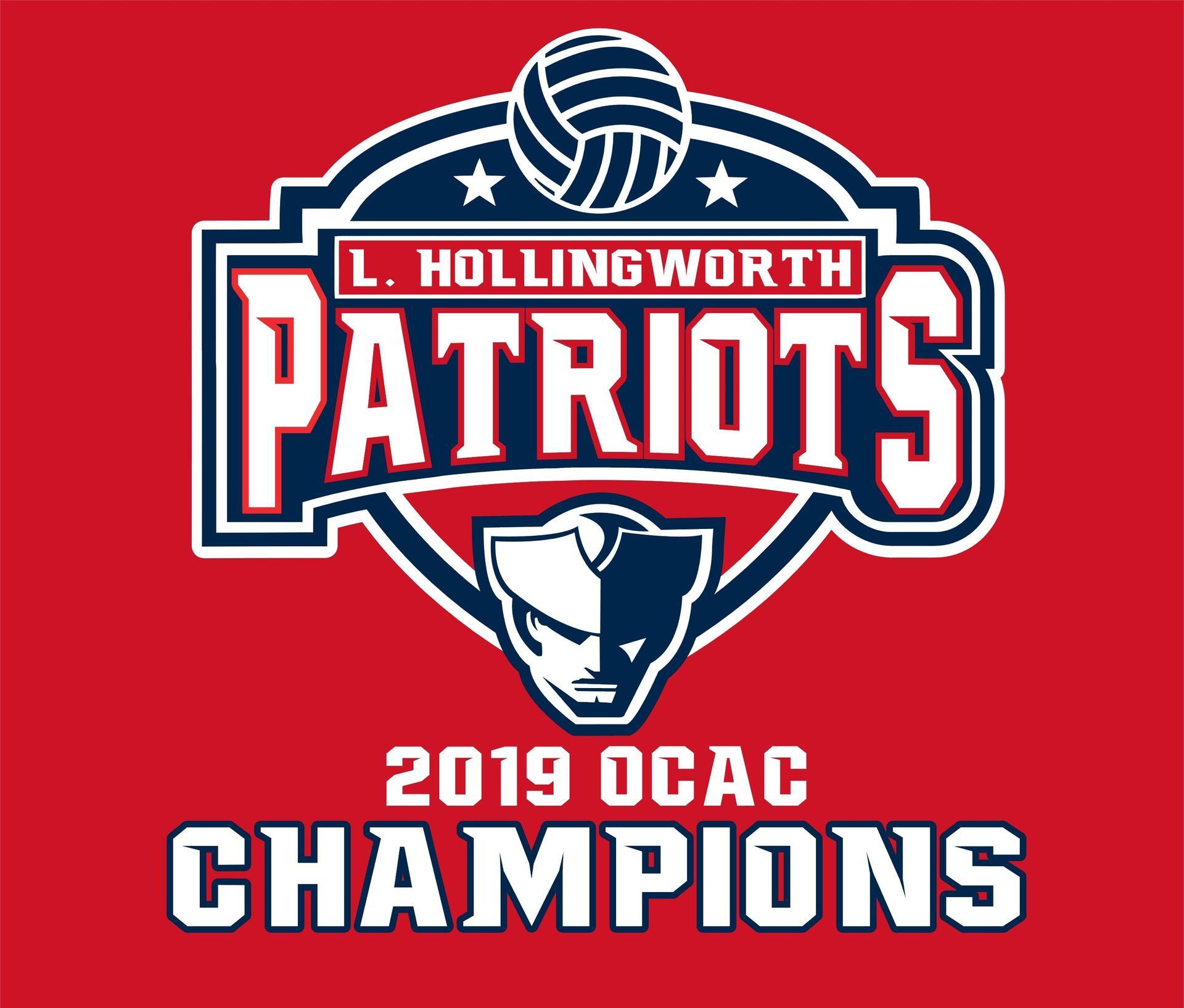 2019 LHS Patriots Championship Logo