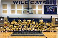 basketball camp stock image