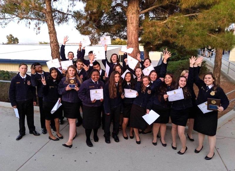Lucerne Valley FFA Team Takes First Place Featured Photo