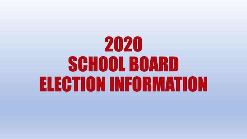 School Board Election Information Featured Photo