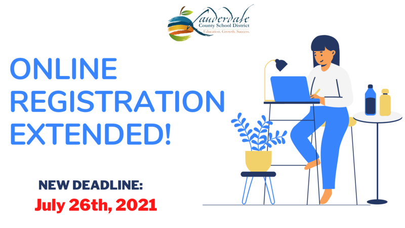 Online Registration Deadline Extended