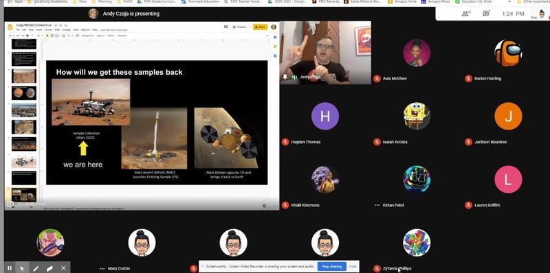 SME Virtual Learning Screenshot
