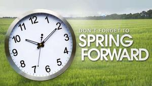 daylight savings image with clock
