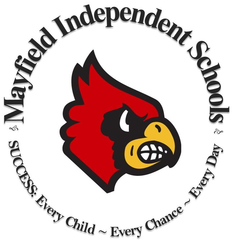 Logo: Mayfield Independent Schools ~ Success: Every Child, Every Chance, Every Day
