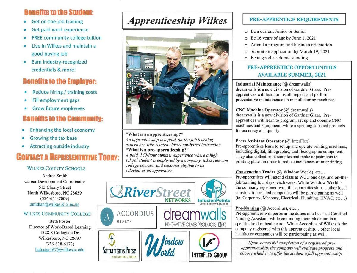 Wilkes Apprenticeship Flyer