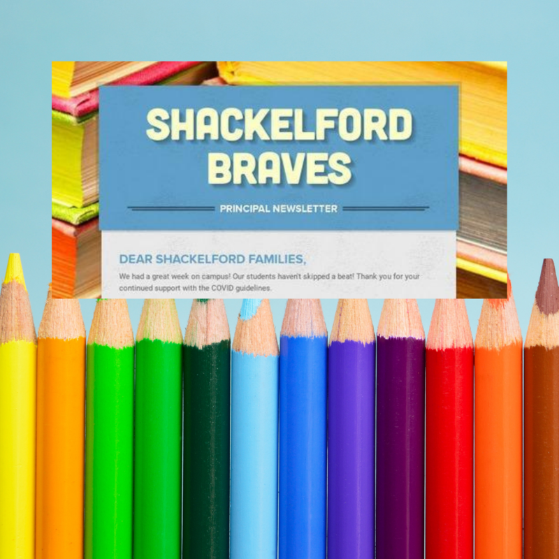 title box of Shackelford newsletter