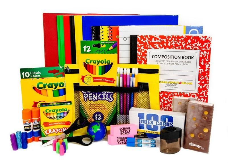 Grade Level School Supplies for 2021-2022 Featured Photo