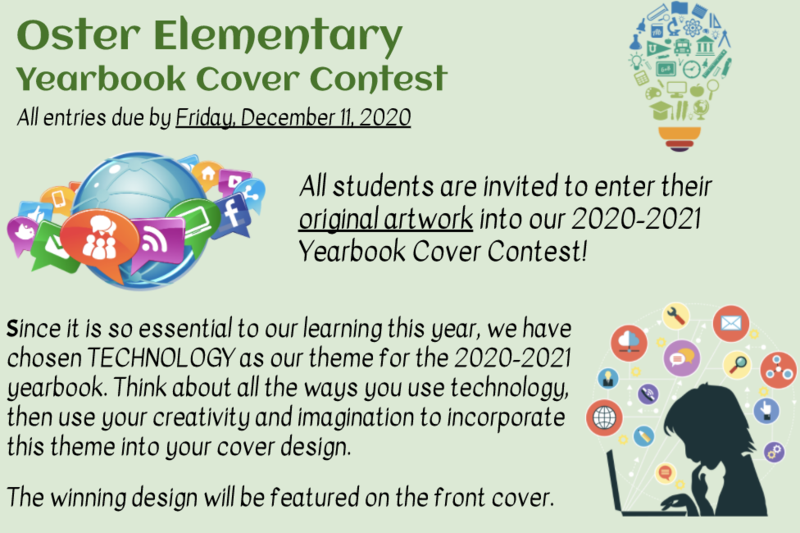 20-21 Yearbook Cover Contest Featured Photo