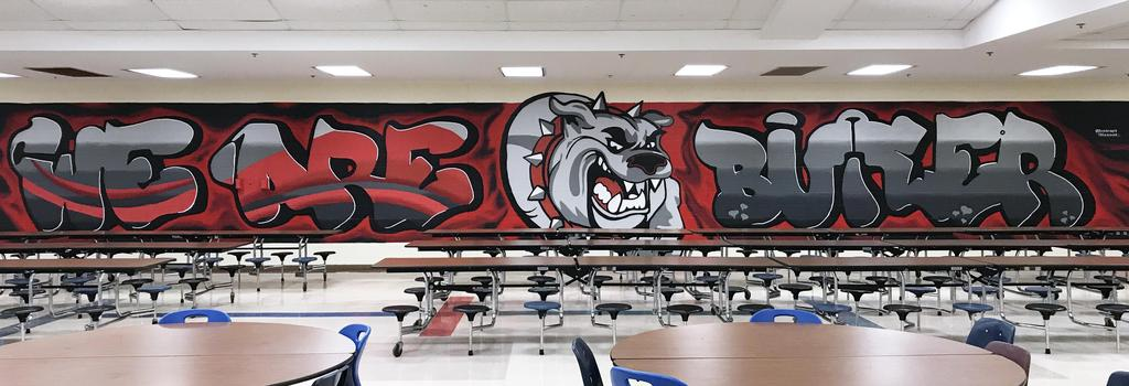 Cafeteria Mural by Abstract Dissent
