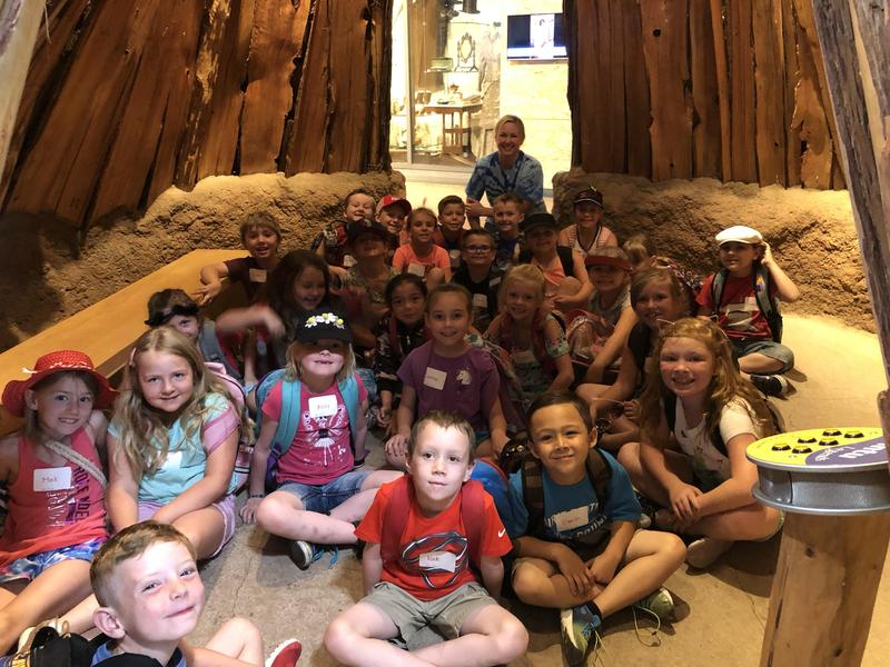 Students at Turtle Bay Exploration Park