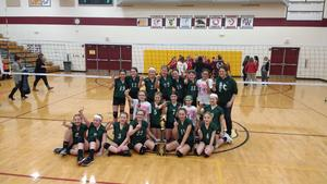6th Grade Volleyball-Saratoga Tourney Champs!