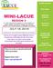 Mini LACUE flyer