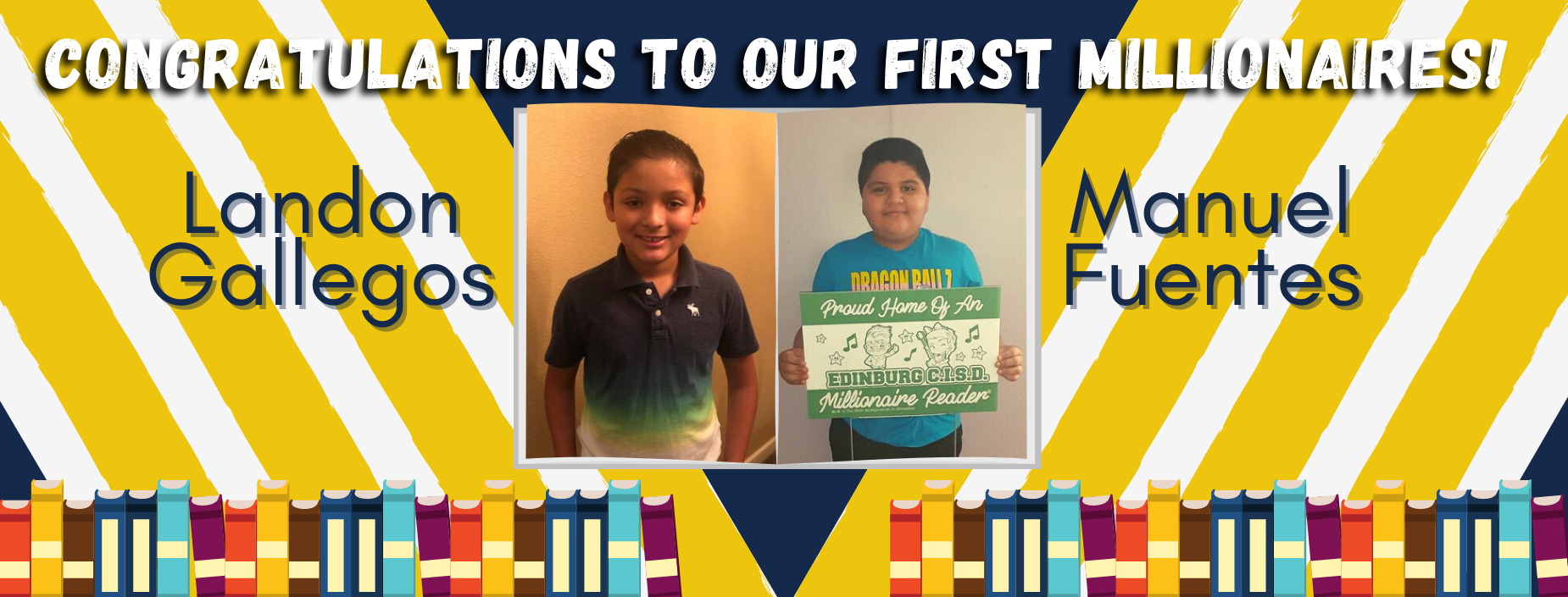 Congratulations to our first millionaires!