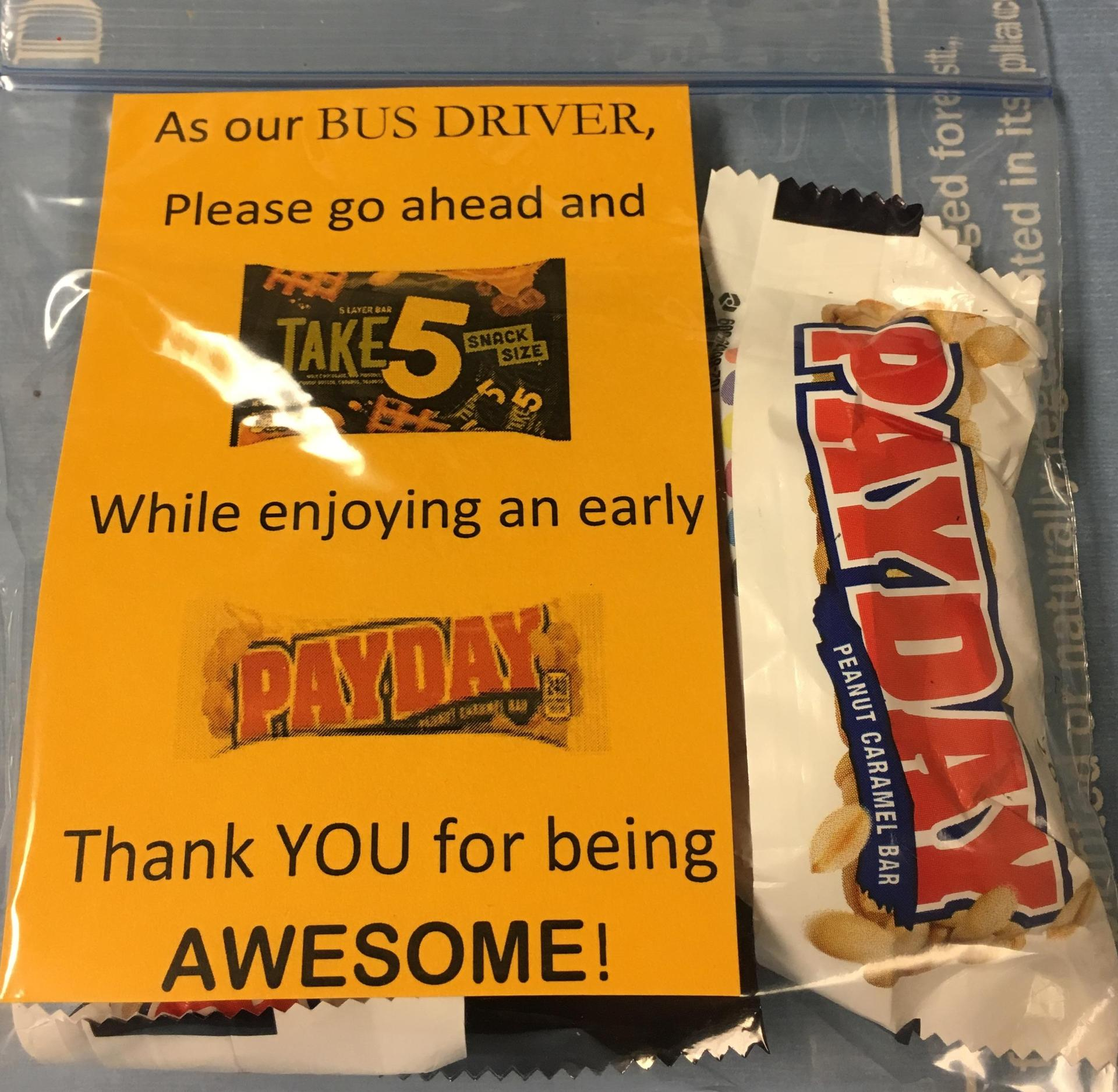 Love the Bus & Bus Driver Appreciation
