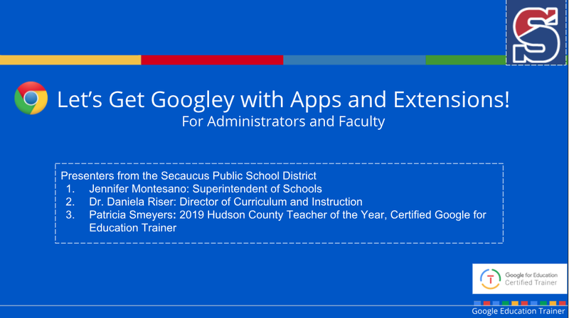 Let's Get Googley! Educational Apps and Extensions Thumbnail Image