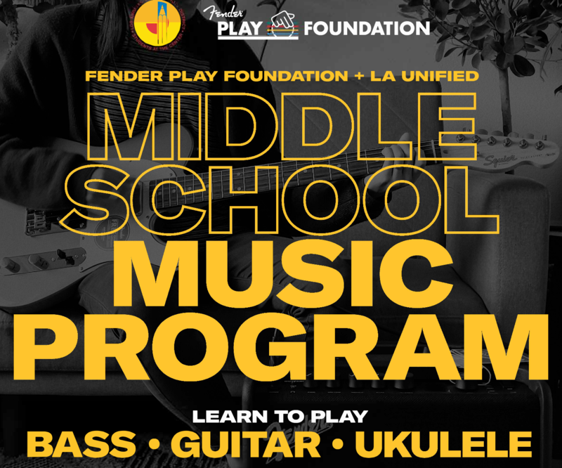 Fender Summer MS Music Program Sign-Up Featured Photo