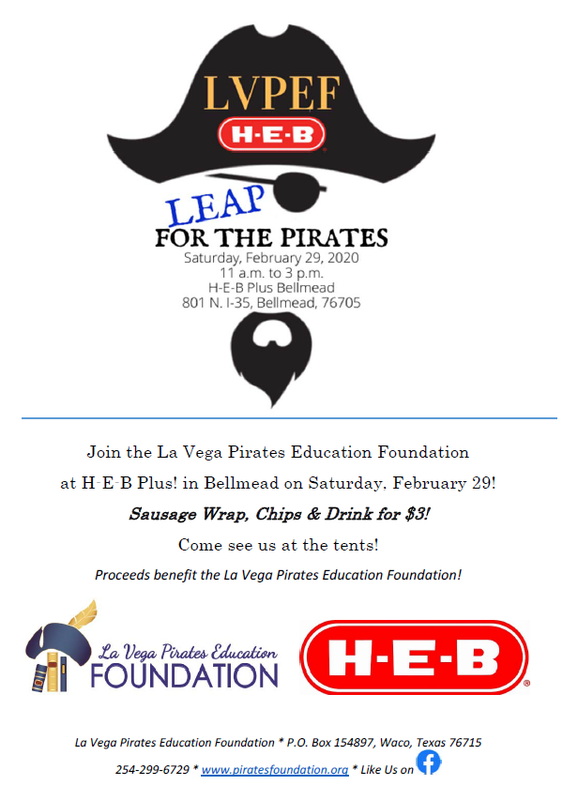 LEAP for the Pirates - LVPEF Fundraiser Thumbnail Image