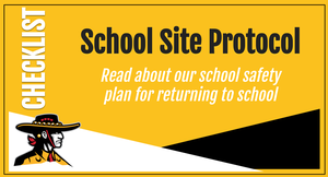 Read about our school safety  plan for returning to school