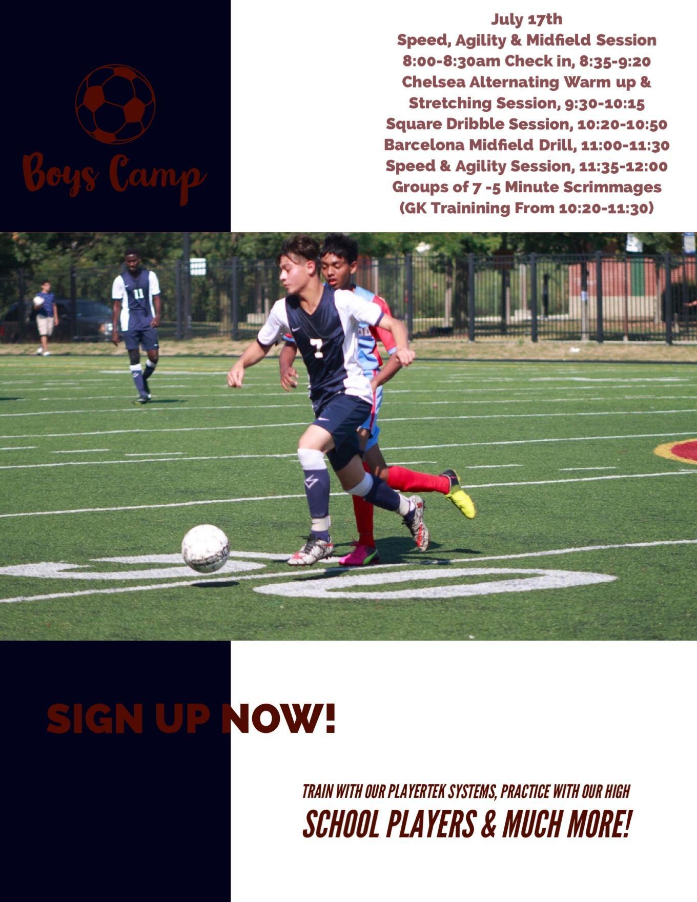 Boy's Soccer Summer Camp pg3