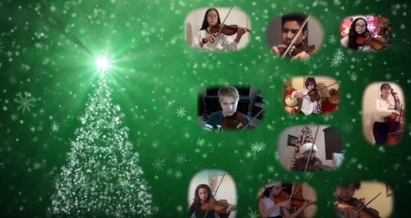 A Virtual Winter Concert brought to you by Corfman's Orchestra Students Thumbnail Image